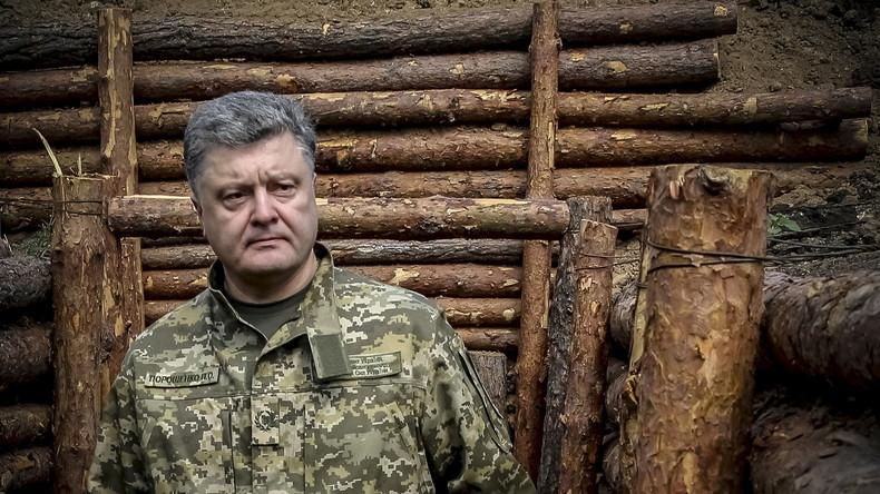 Rüstungsgeschäfte von Petro Poroschenko - Ein War-Lord mit Schokolächeln
