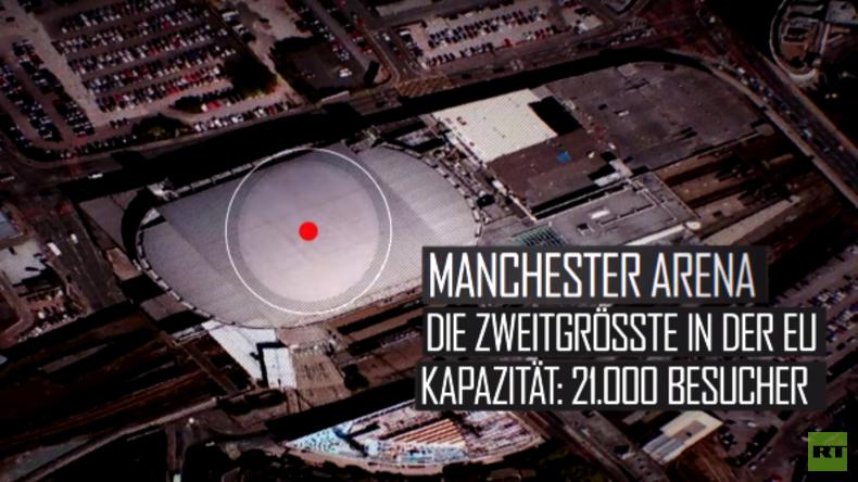 Der Verlauf des Anschlags in Manchester in einer kurzen Übersicht