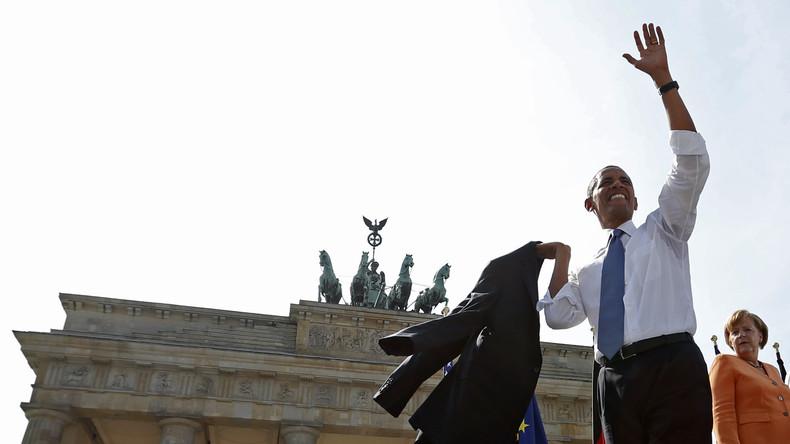 Evangelischer Kirchentag: Obama auf Werbetour für Veränderung und seine Stiftung in Berlin