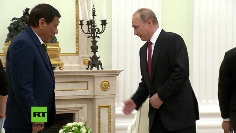 Philippinischer Präsident Duterte muss wegen IS-Überfall Moskau-Besuch abbrechen