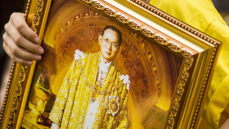 14-Jähriger wegen Verbrennung von Königsbild in Thailand in Haft