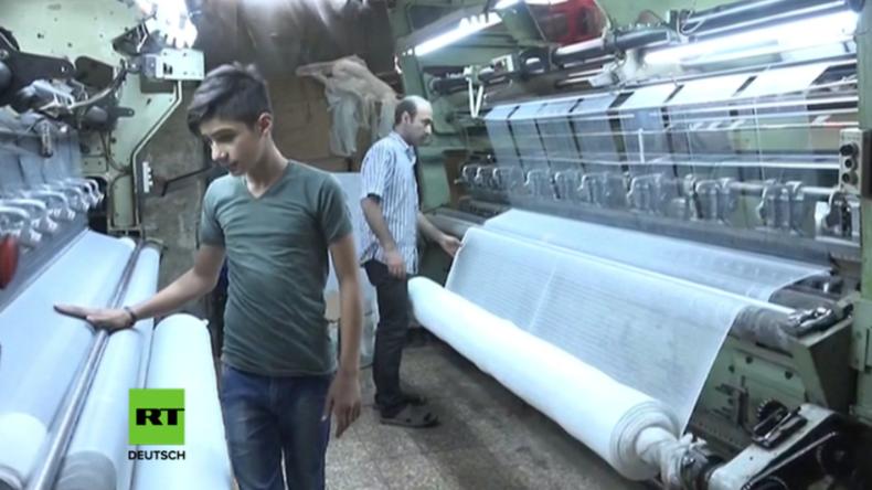 Aleppo: 15.000 Kleinbetriebe wiedereröffnet – Dank Reparaturen, zinsfreier Kredite und Subventionen