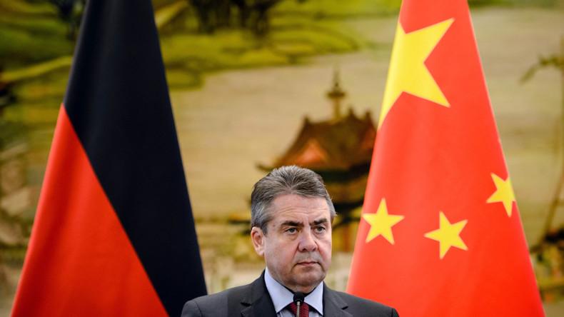 Außenminister Gabriel wirbt in China für offenen Welthandel