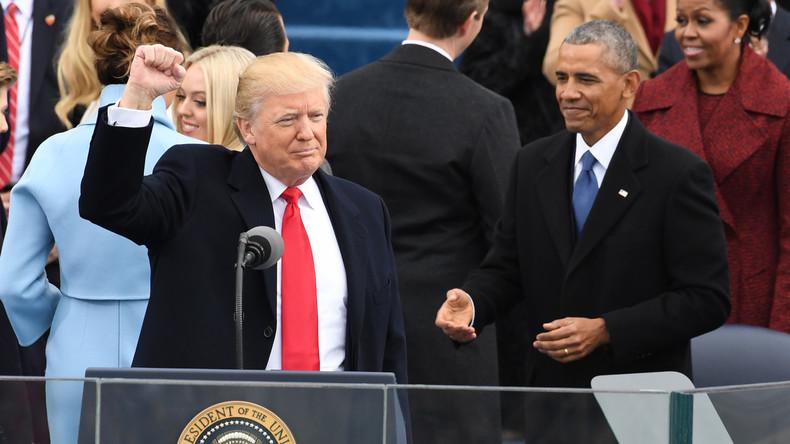 Donald Trump im Händeschütteln besiegt (VIDEO)