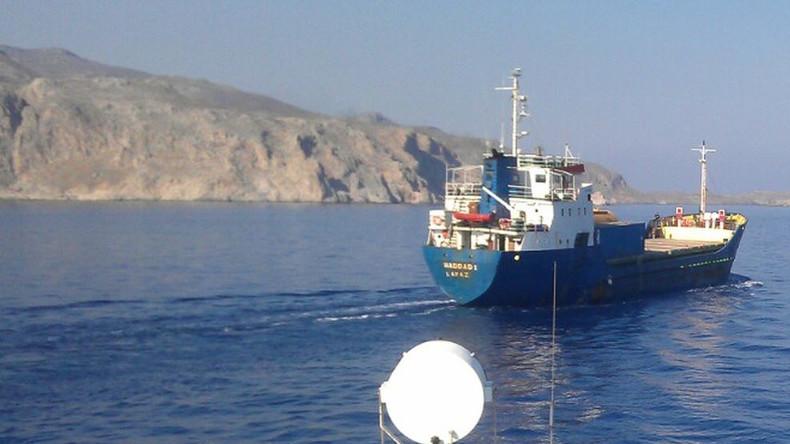 Griechische Küstenwache stoppt Frachter mit Sprengstoff