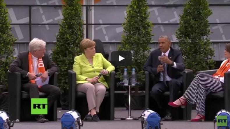 """Live aus Berlin: RT-Deutsch Reporter Kani Tuyala beim """"Obama-Kirchentag"""""""