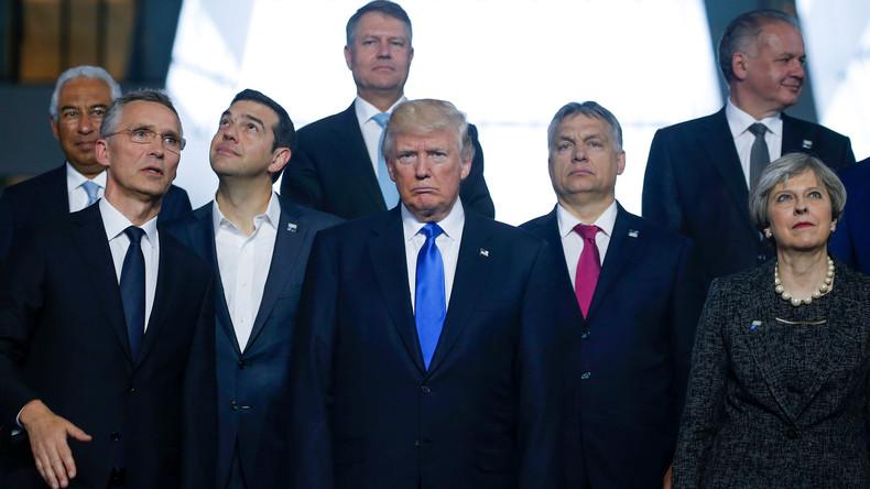"""Trump auf Europareise: Zahlreiche Konfliktpunkte und Kritik an """"bösem, sehr bösem Deutschland"""""""