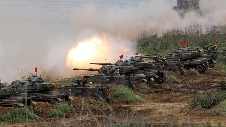 """Taiwan führt Großmanöver gegen """"chinesische Attacke"""" durch"""