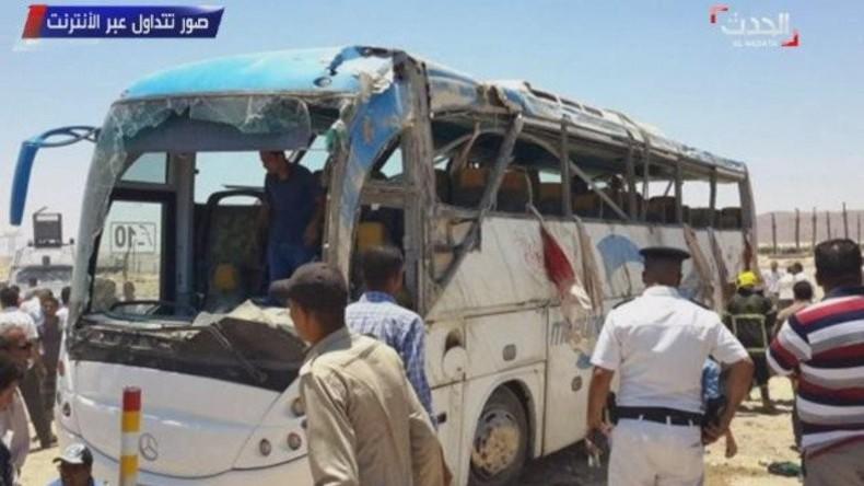 Ägypten: Bewaffneter Angreifer tötet 23 koptische Christen und verletzt 25 weitere
