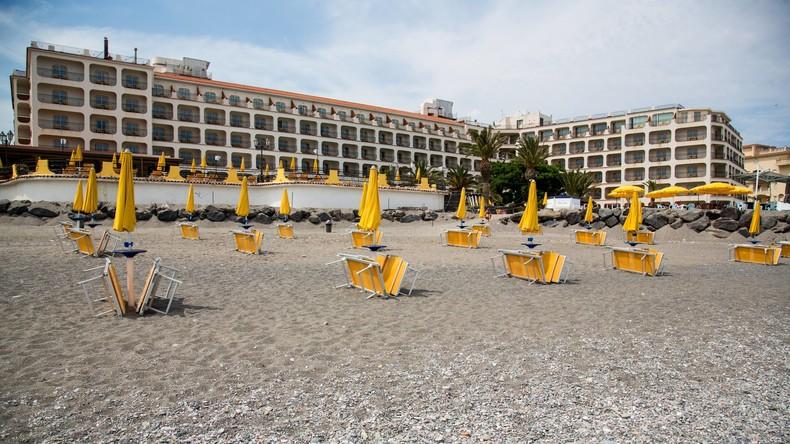 G7-Gipfel startet auf Sizilien - aus Angst vor Randale Geschäfte und Restaurants verbarrikadiert