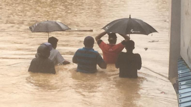 Zahl der Toten nach Unwettern in Sri Lanka steigt auf mehr als 90