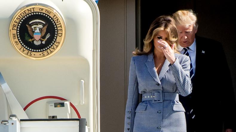 Melanias Rache? - Warum sie Donald Trumps Hand weggeschlagen hat