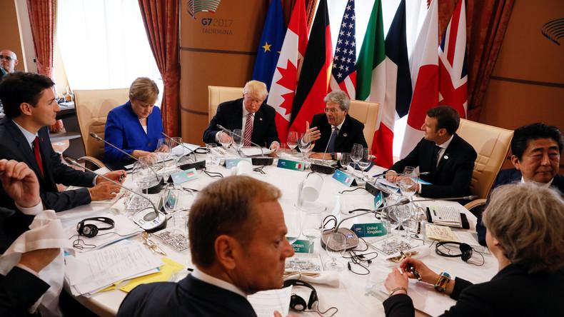 USA blockieren: G7-Plan für Flüchtlingskrise gescheitert