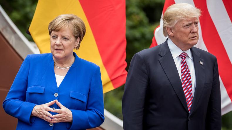 Merkel weist Trump-Kritik an deutschem Handelsüberschuss zurück