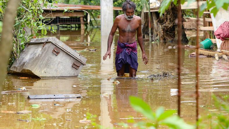 100 Tote nach Unwettern in Sri Lanka