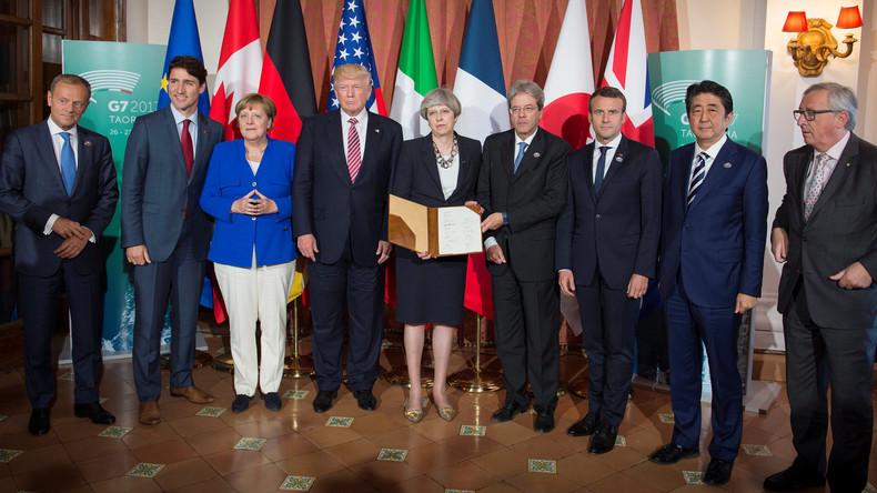 G7-Staaten sprechen sich gegen Protektionismus und für offene Märkte aus