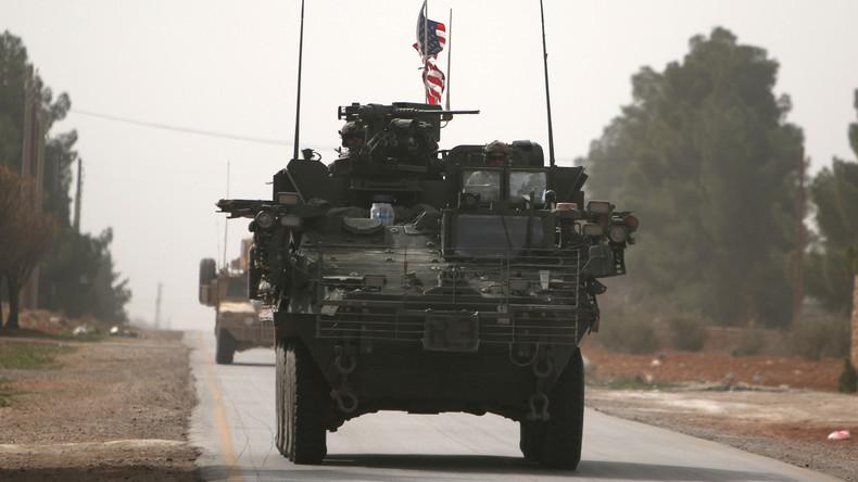 US-Soldat stirbt in Syrien