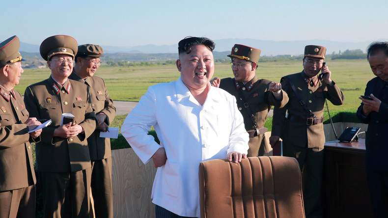 Nordkorea testet sein neues Flugabwehrsystem - Kim Jong-un ordnet Serienproduktion an