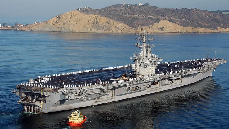 Die USA schicken einen dritten Flugzeugträger in den Westpazifik
