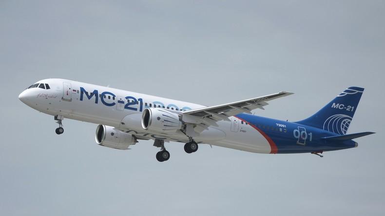 Passagierflugzeug MS-21 absolviert Jungfernflug über Irkutsk