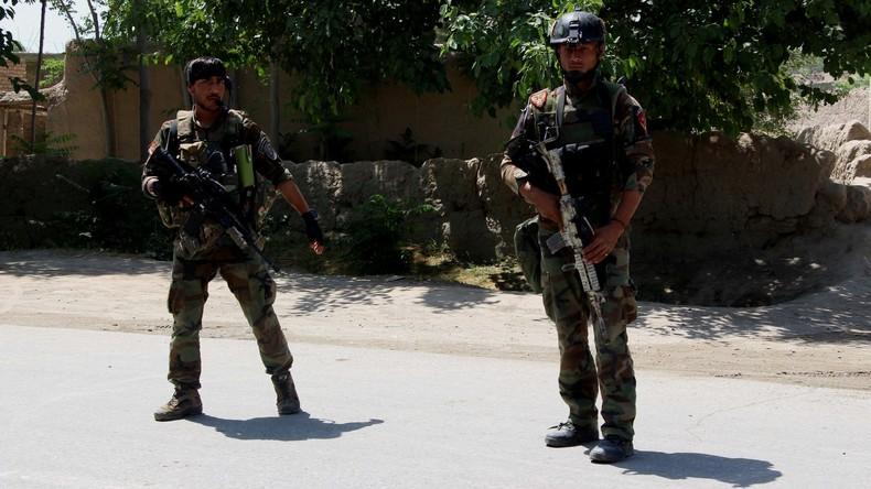 Afghanischer Polizist erschießt fünf Kollegen