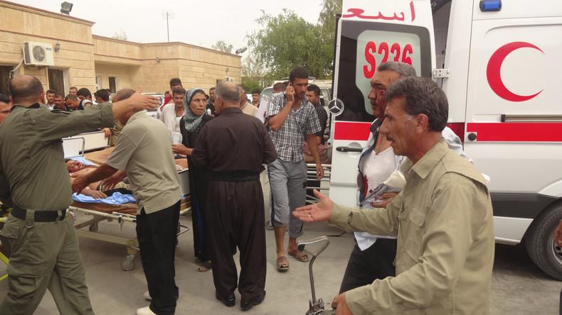 Selbstmordanschlag im Irak tötet mindestens neun Zivilisten