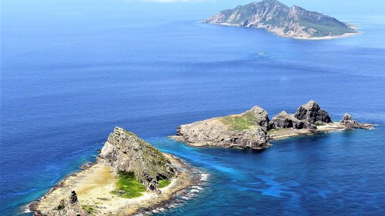 Inseln in Ost-Chinesischen Meer