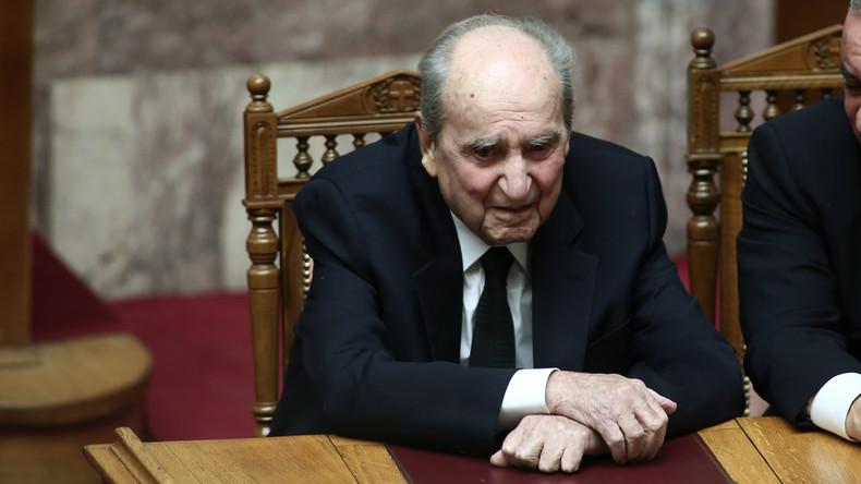 Todesfälle: Griechenlands Ex-Ministerpräsident Mitsotakis im Alter von 98 Jahren gestorben