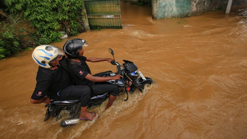 164 Tote nach Unwettern in Sri Lanka: China stellt über zwei Millionen Dollar Hilfe bereit