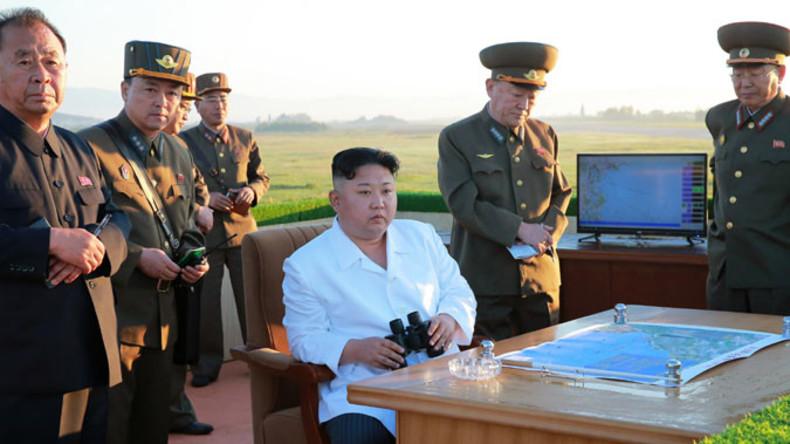 Nordkorea pfeift auf US-Drohungen: Kim Jong-un begutachtet persönlich weiteren Raketentest