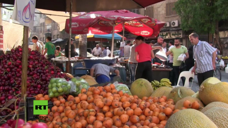 """""""Es fast wieder so wie vor dem Krieg"""" - Aleppo feiert Beginn des muslimischen Fastenmonats Ramadan"""