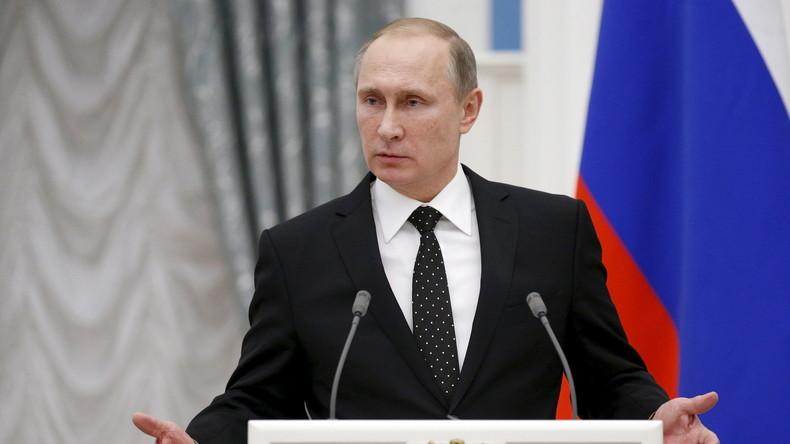 Chance auf historischen Wandel: Putin in Paris