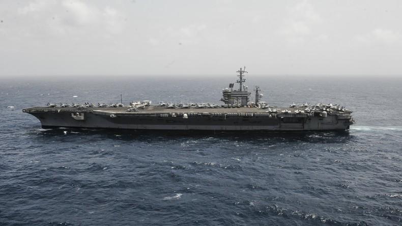 """US-Flugzeugträger """"USS Carl Vinson"""" kehrt aus südkoreanischen Gewässern heim"""