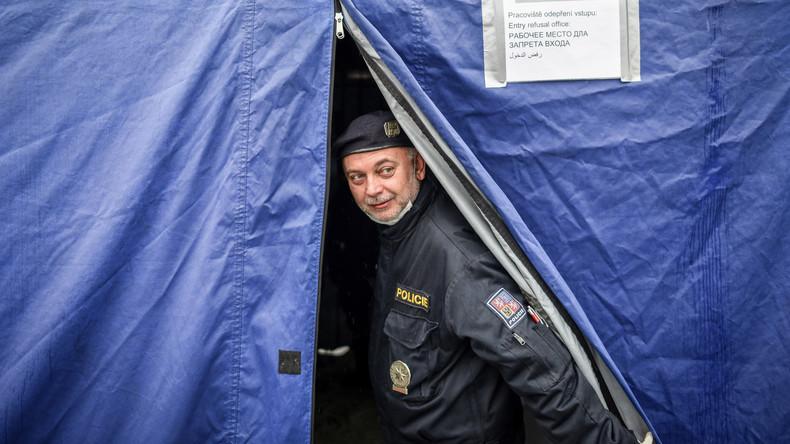 Polizei beendet Protest in tschechischem Abschiebelager