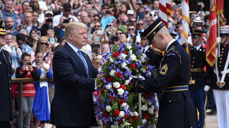 Trump preist die Helden der USA am Memorial Day