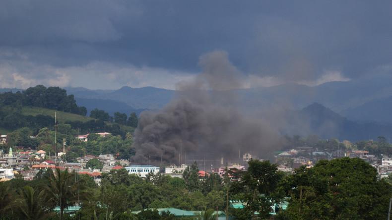 Erneut Luftangriffe und Kämpfe gegen Terroristen in südphilippinischer Stadt Marawi