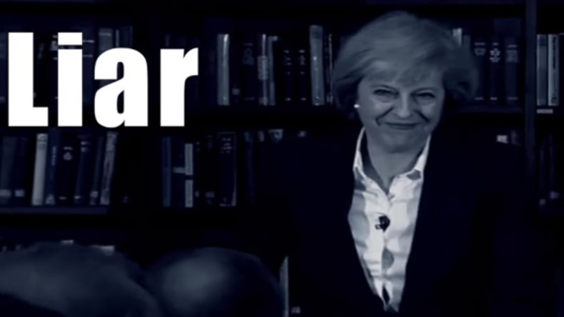 """Song """"Theresa May ist eine Lügnerin"""" stürmt britische Charts"""