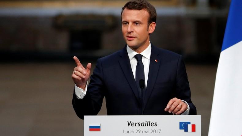 Macron: Erneut einseitige Anschuldigungen gegen RT ohne Beweise
