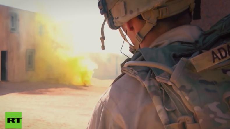 US-Soldaten auf dem Schlachtfeld: Kriegstraining in Dorf-Nachbau soll für den Krieg vorbereiten