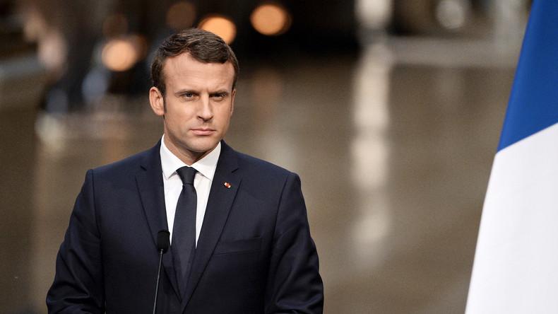 """Macron führt faktenfreien Krieg gegen """"betrügerische Propaganda"""" von RT"""