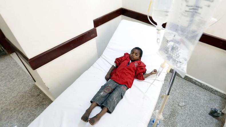 UNO befürchtet bis zu 200.000 Cholera-Fälle im Jemen