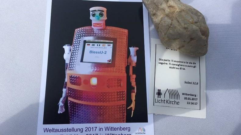 Segens-Roboter: Religion und Wissenschaft feiern 500 Jahre Reformation (Fotos, Videos)