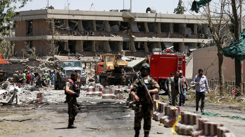 Erste Videoaufnahmen aus Kabul: Gewaltige Explosion vor deutscher Botschaft