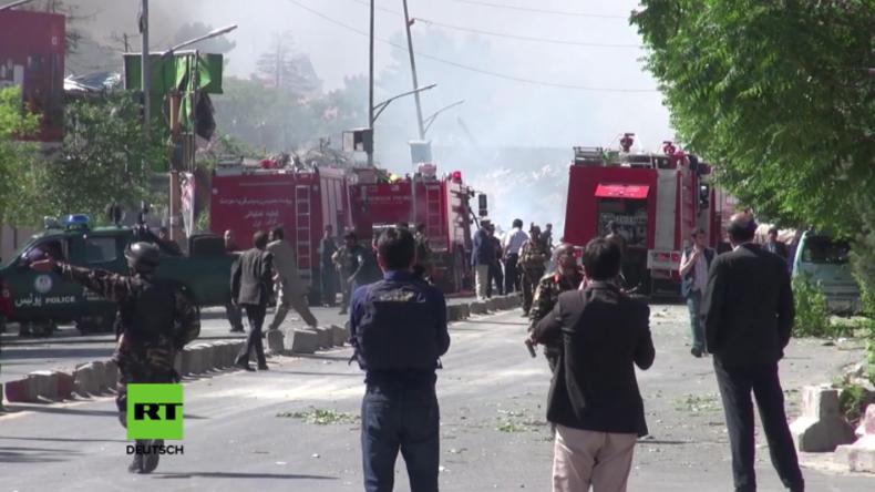 Anschlag in Kabul: Gebäude der Deutschen Botschaft schwer beschädigt - mehrere Mitarbeiter verletzt