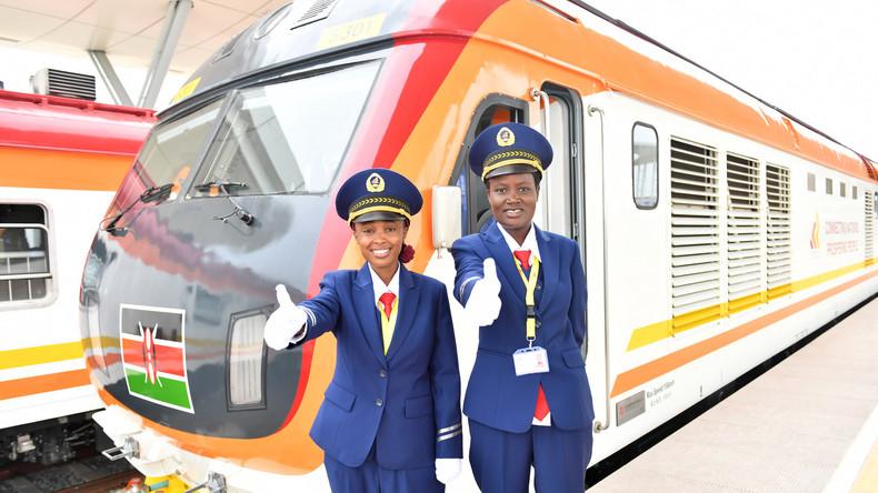 Kenia eröffnet erste neue Bahn seit mehr als einem Jahrhundert