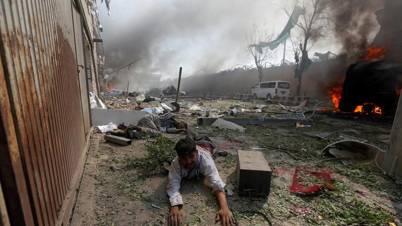 Live-Updates: Anschlag nahe Deutscher Botschaft in Kabul – über 80 Tote und 350 Verletzte