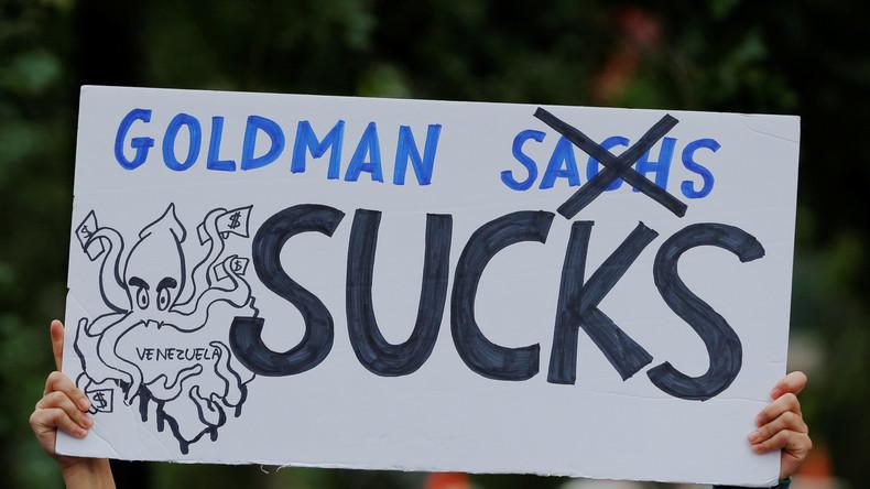 Profit auf Kosten Venezuelas: Nationalversammlung stellt sich gegen Goldman-Milliardenanleihen