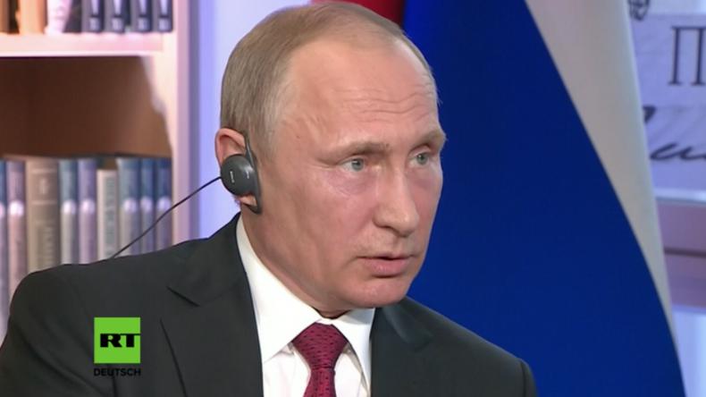 Putins Interview in Paris - Heute Abend bei uns in voller Länge