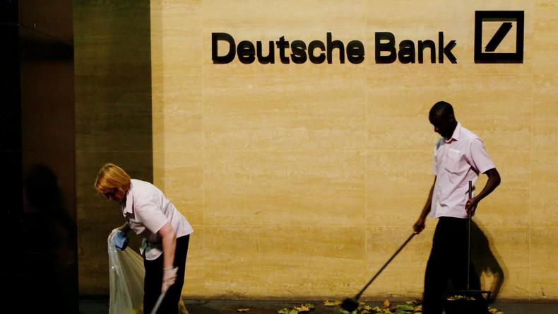 Handelskrieg mit den USA: Millionenstrafe gegen Deutsche Bank