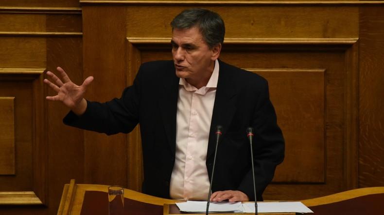 Griechischer Finanzminister wirft Gläubigern Doppelmoral vor